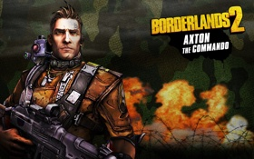 Картинка оружие, Commando, RPG, 2K Games, Borderlands 2, Gearbox Software, Unreal Engine 3