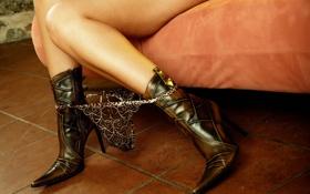 Обои трусики, сапоги, трусы, ножки