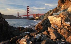 Картинка город, city, USA, San Francisco, California
