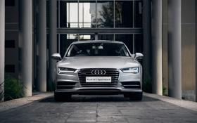 Обои Audi, ауди, TDI, quattro, Sportback, 2015, ZA-spec