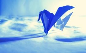 Картинка бумага, фон, оригами
