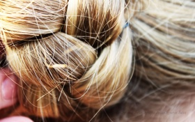 Обои Волосы, коса, золотой