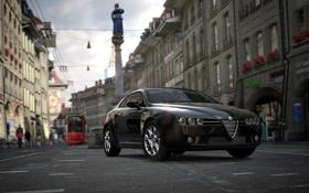 Картинка площадь, Gran Turismo 5, AlfaRomeo