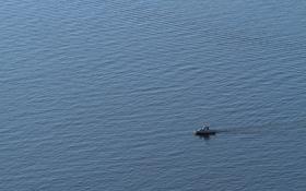Обои корабль, море, минимализм