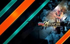 Обои Спорт, Баскетбол, NBA, San Antonio, Сан Антонио, Spurs, Тим Данкан