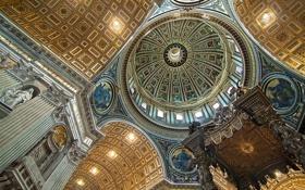 Картинка фото, цвет, архитектура, michelangelo`s dome, lesogard