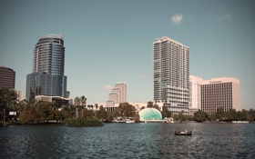 Картинка город, city, Orlando, Florida, USA