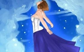 Картинка свобода, небеса, арт, bioshock, art, Элизабет, elizabeth