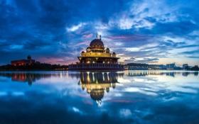 Обои город, Malaysia, Putrajaya