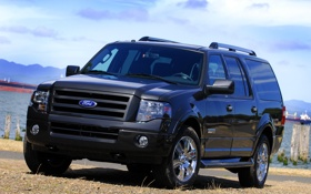 Обои берег, Ford, Expedition