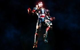 Картинка костюм, iron man, Marvel Comics, James Rhodes, Iron Patriot, Rhodey