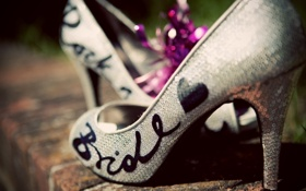 Картинка туфли, мода, каблук, обувь, макро, стиль