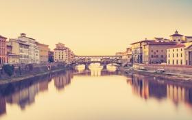 Картинка река, вода, город, обои, дома, здание, фон