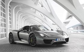 Обои Porsche, суперкар, порше, Spyder, 918, 2014