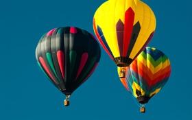 Обои baloons, Air Balloons, Воздушный шар