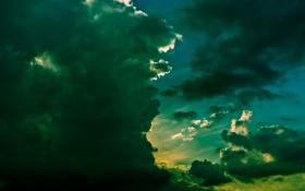 Обои небо, тучи, природа