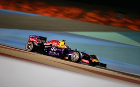 Обои Infiniti Red Bull Racing, race, болид, гонка, формула 1, Bahrain GP, Daniel Ricciardo