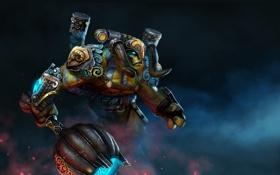Картинка арт, персонаж, Dota 2, Elder Titan