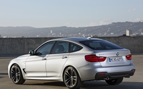 Картинка авто, BMW, 335i, задок, Gran Turismo, M Sports Package