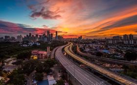 Картинка город, Kuala Lumpur, Malaysia