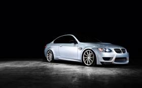Обои BMW, E92, silvery, 3 Series