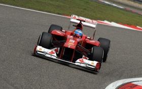 Обои Формула 1, Ferrari, Fernando Alonso, Фернандо Алонсо, f2012