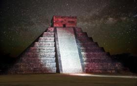 Картинка майя, пирамида, архитектура, мексика, Chichen Itza