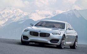 Обои Авто, Дорога, Горы, BMW, Концепт, БМВ