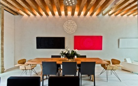 Обои дизайн, дом, интерьер, мебель