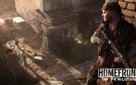 Обои война, солдаты, war, art, Homefront: The Revolution