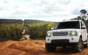 Обои Land Rover, Discovery, 4SDV6HSE
