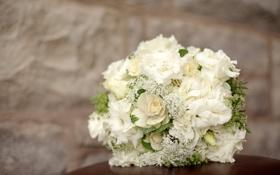Обои эустома, композиция, букет, гортензия, цветы