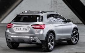 Обои Concept, Mercedes-Benz, концепт, мерседес, вид сзади, GLA