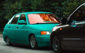 Обои машина, авто, Lada, auto, 2112, ВАЗ, торусы