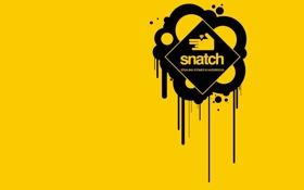 Обои Большой куш, брилиант, фильм, art, Snatch, рука, арт