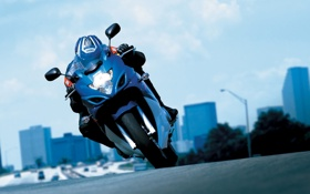 Обои мотоциклы, спорт, suzuki, moto wallpapers 2560x1600, gsx 650f action