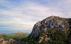 Картинка природа, камни, гора, Balearic Islands, Mallorca