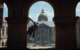 Обои париж, Assassin's Creed Unity, Кредо ассасина, арно, Единство