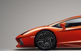 Картинка car, машина, оранжевый, цвет, колесо, lamborghini, автомобиль