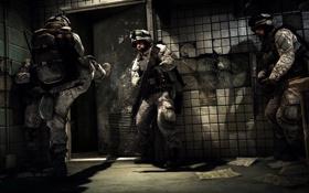 Картинка дверь, солдат, Battlefield