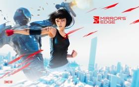 Обои драка, Mirrors Edge, фейт, ваще игра супер!