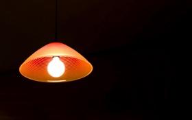 Обои свет, фон, лампа