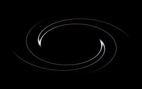 Обои чёрное, лучи, абстракция. минимализм