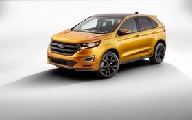 Обои Ford, форд, Edge, эдж, 2015, Titanium