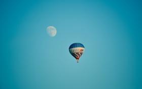 Обои спорт, шар, луна