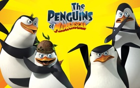 Обои The Game, пингвины из мадагаскара, The Penguins of Madagascar, игра
