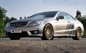 Картинка car, машина, tuning, 1920x1200, Prior Design, Mercedes E-Class Coupe C207