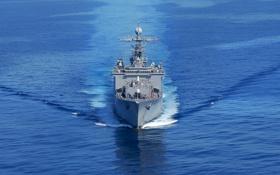 Обои Вода, Море, Фото, Корабль, ВМФ, Флот, Военно-морской