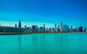 Обои USA, чикаго, Chicago, illinois