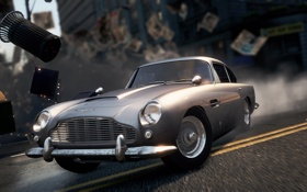 Обои Aston Martin, NFS, 2012, DB5, Most Wanted, Need for speed